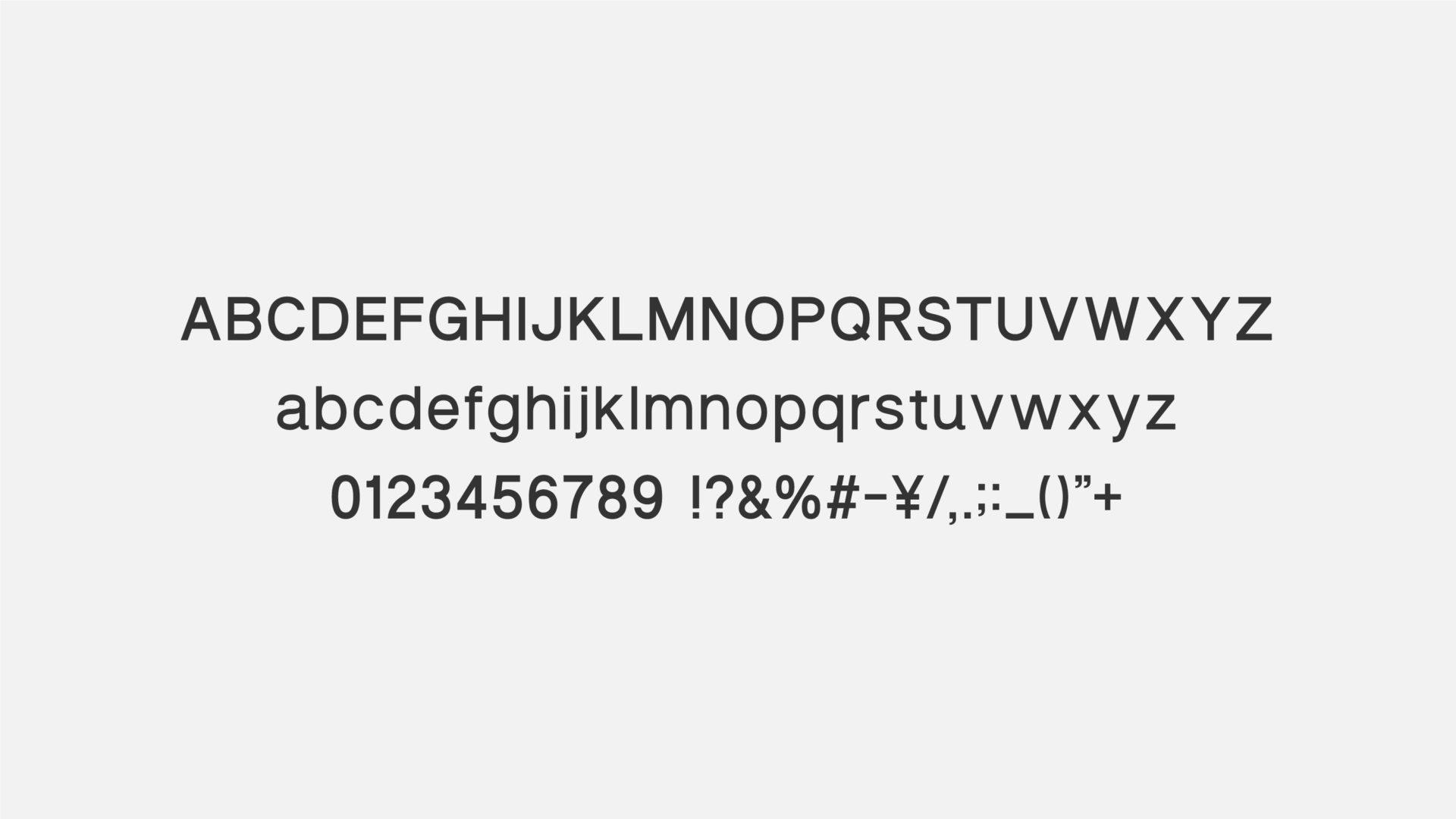 名古屋のオフィスソリューション企業 「e-flap」のプロジェクトで制作したオリジナルフォント「AI FONT」